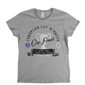 European Cup Winners Final 1972 Womens T-Shirt