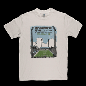 Retro Newcastle Football Club Regular T-Shirt
