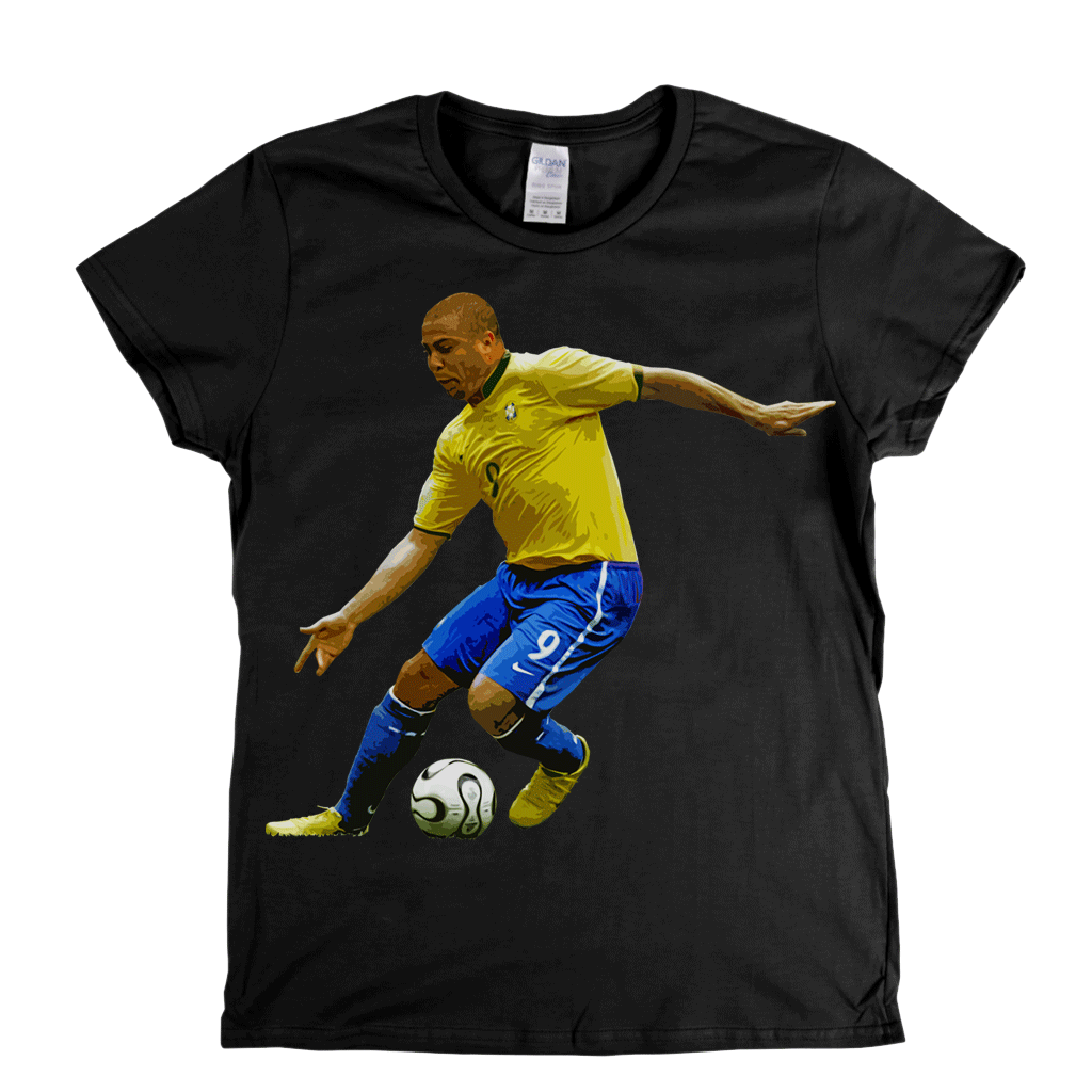 Ronaldo Footballer Womens T-Shirt