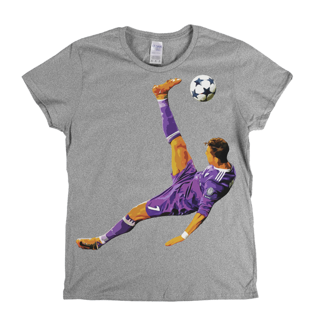 Ronaldo Kick Womens T-Shirt