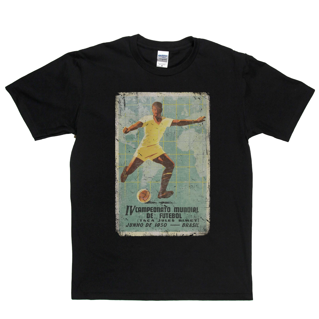 Brasil World Cup 1950 Poster T-Shirt