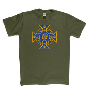 Retro Irish FA Badge Regular T-Shirt