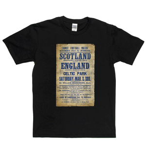 Scotland England Antique Poster Regular T-Shirt