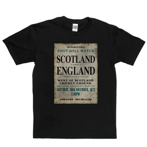 Scotland V England 1872 Regular T-Shirt