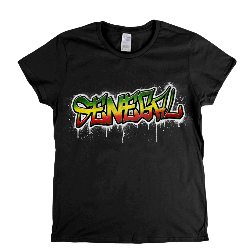 Senegal Tag Womens T-Shirt