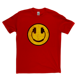 Smiley Headphones Regular T-Shirt