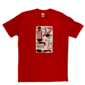 Soccer Paper Doll Postcard Regular T-Shirt
