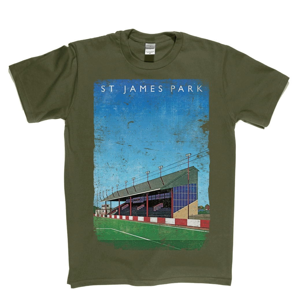 St James' Park Exeter Ground Poster Regular T-Shirt
