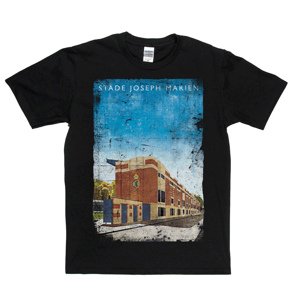 Stade Joseph Marien Football Ground Poster Regular T-Shirt