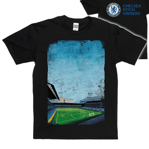Stamford Bridge on the Front | Chelsea Pitch Owners on the Back Regular T-Shirt