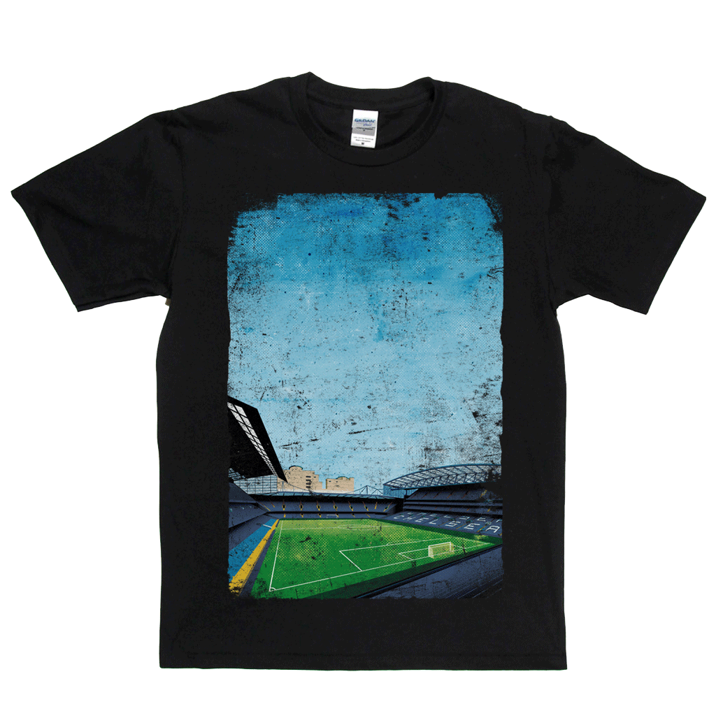 Stamford Bridge Ground Poster Regular T-Shirt