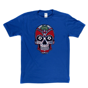 Team Sugar Skull Red White Alternative Regular T-Shirt
