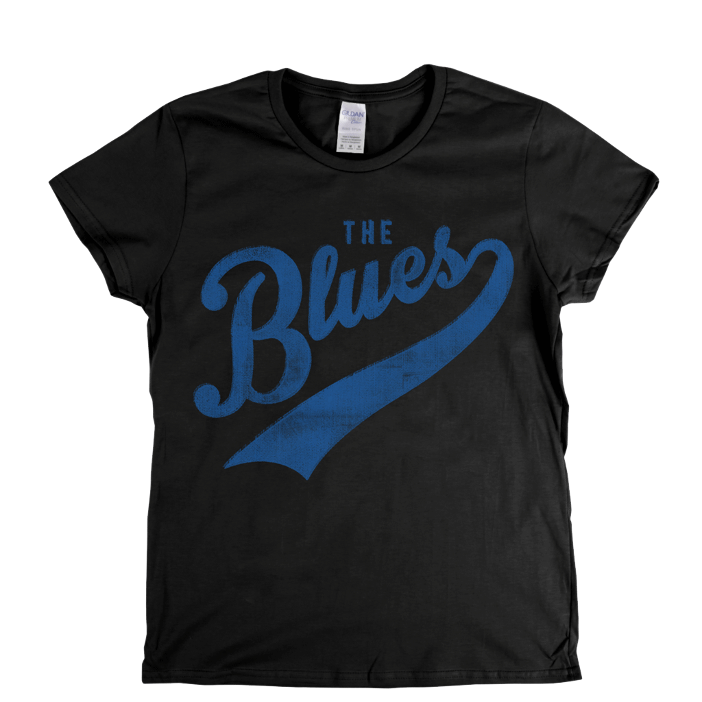 The Blues Womens T-Shirt