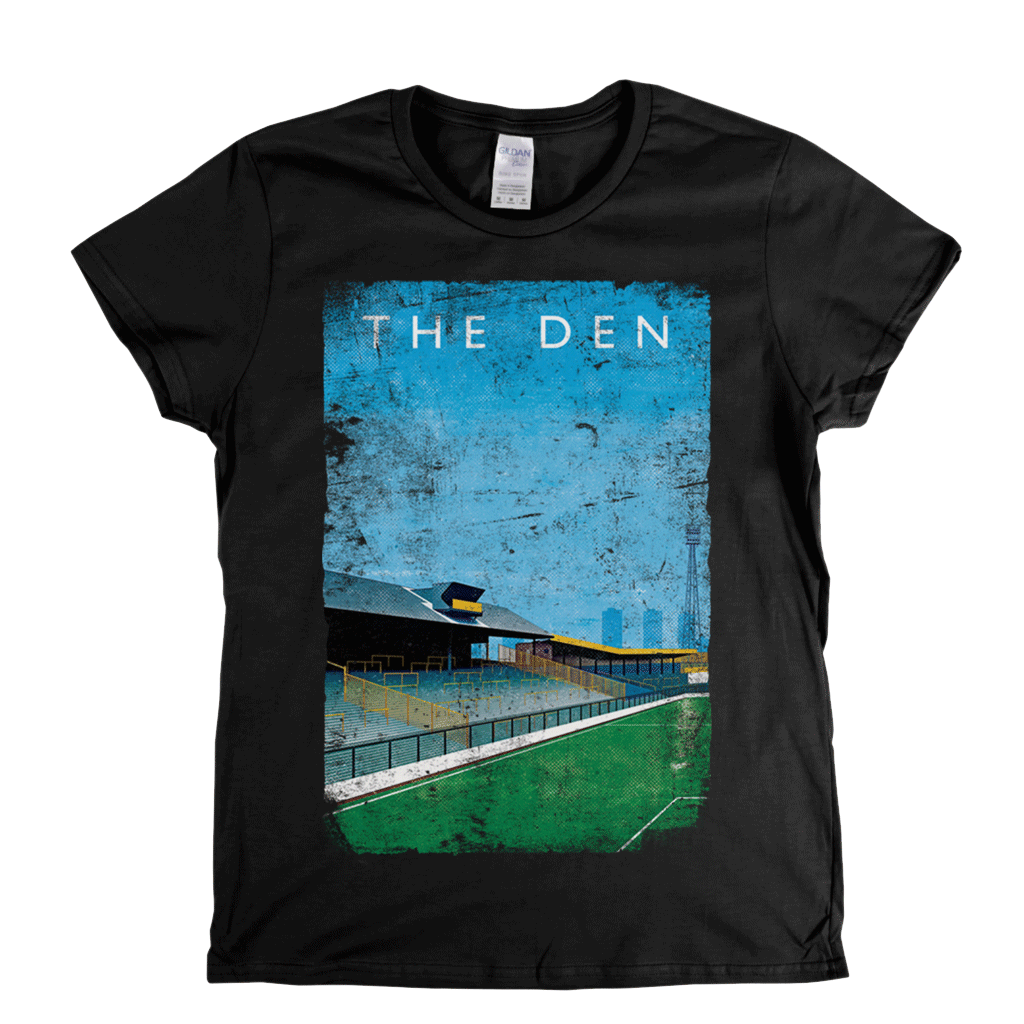 The Den Poster Womens T-Shirt