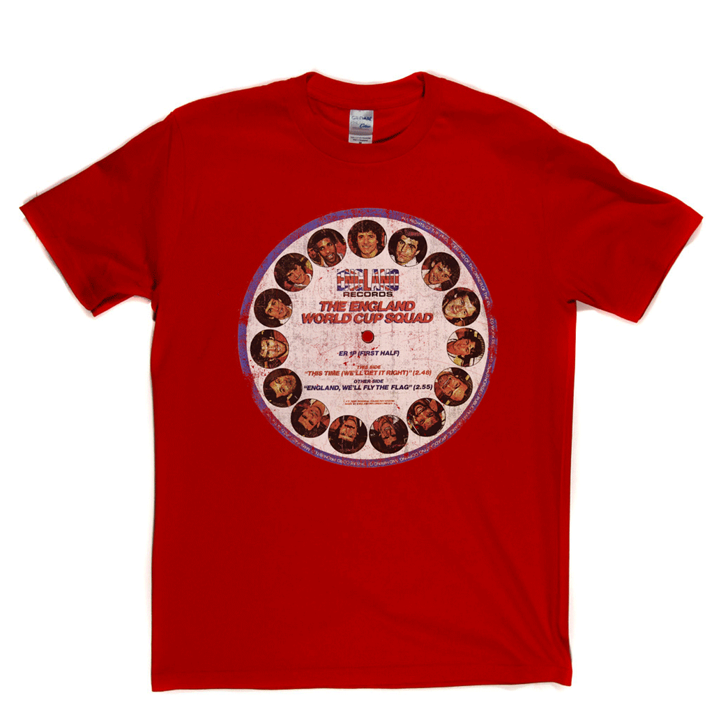 The England Picture Disc Regular T-Shirt