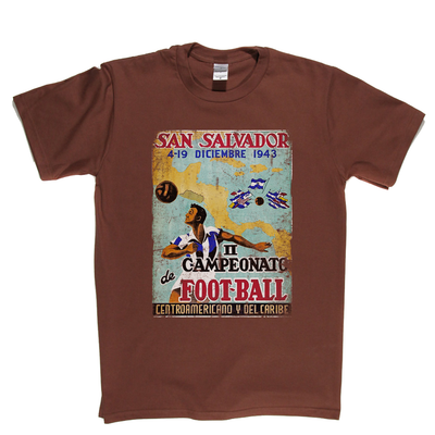 Central America Cup 1943 Poster T-Shirt