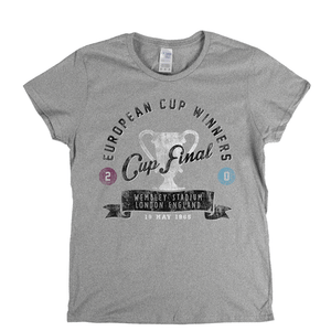 European Cup Winners Final 1965 Womens T-Shirt