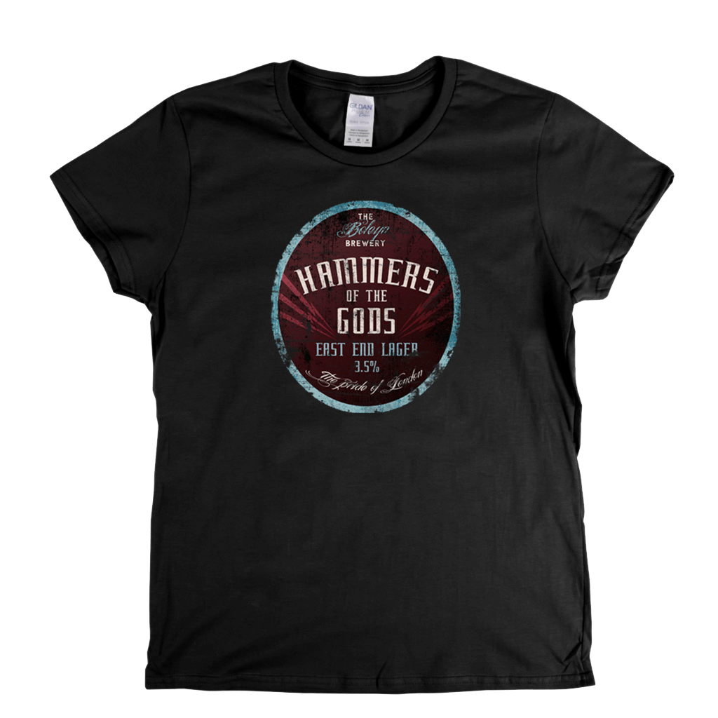 West Ham Beer Label Womens T-Shirt