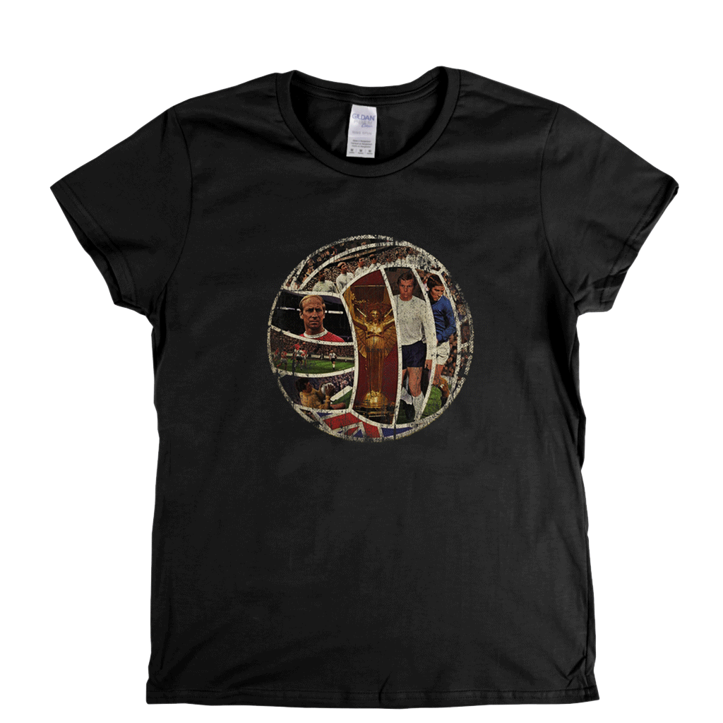 World Cup Team Ball 1966 Womens T-Shirt