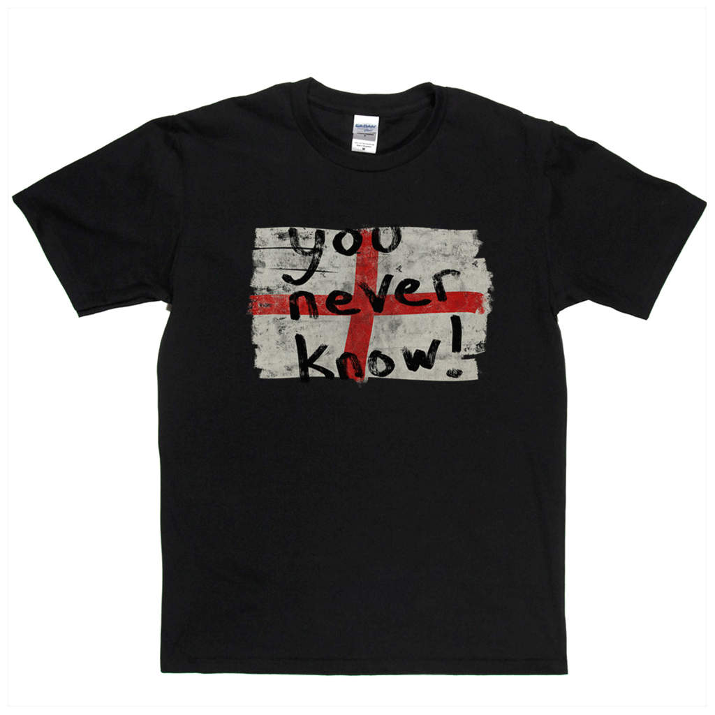You Never Know Flag Regular T-Shirt