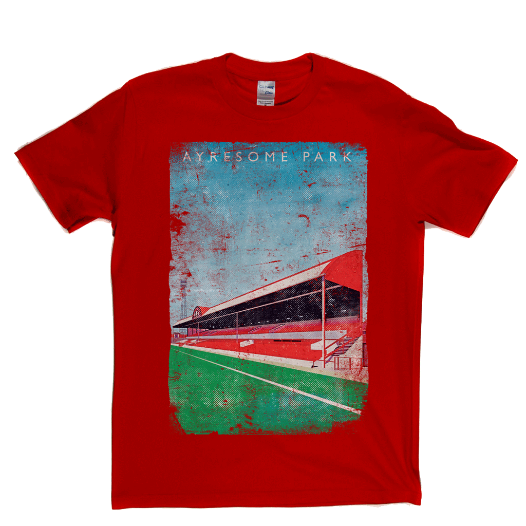 Ayresome Park Poster Regular T-Shirt