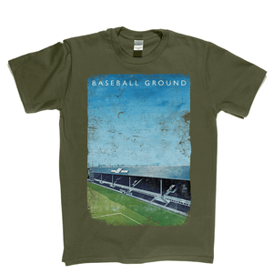 Baseball Ground Poster Regular T-Shirt