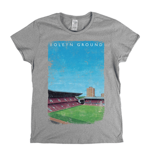 Boleyn Ground Poster Womens T-Shirt