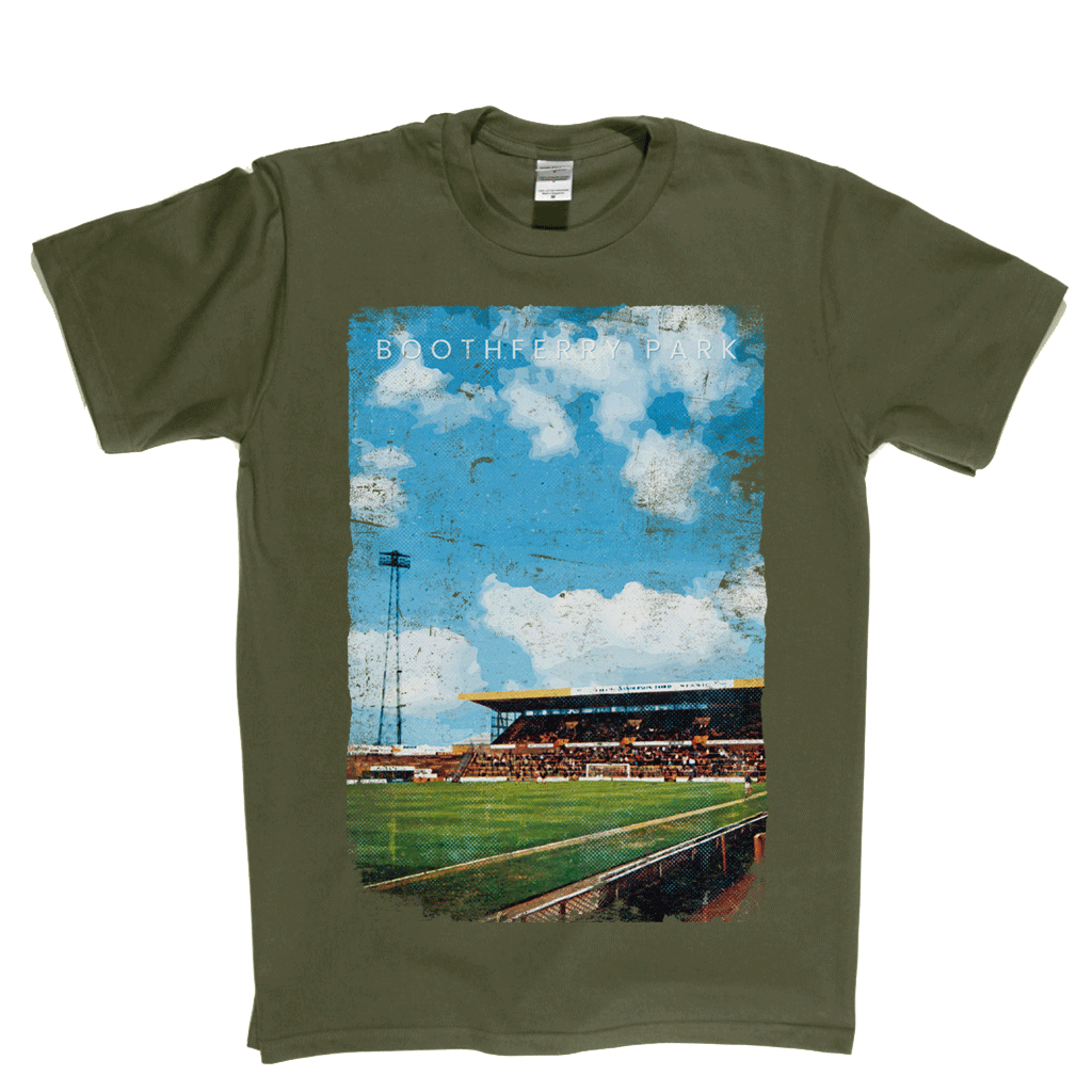 Boothferry Park Football Ground Poster Regular T-Shirt