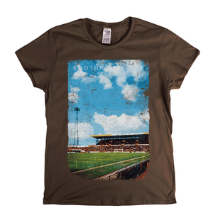 Boothferry Park Football Ground Poster Womens T-Shirt