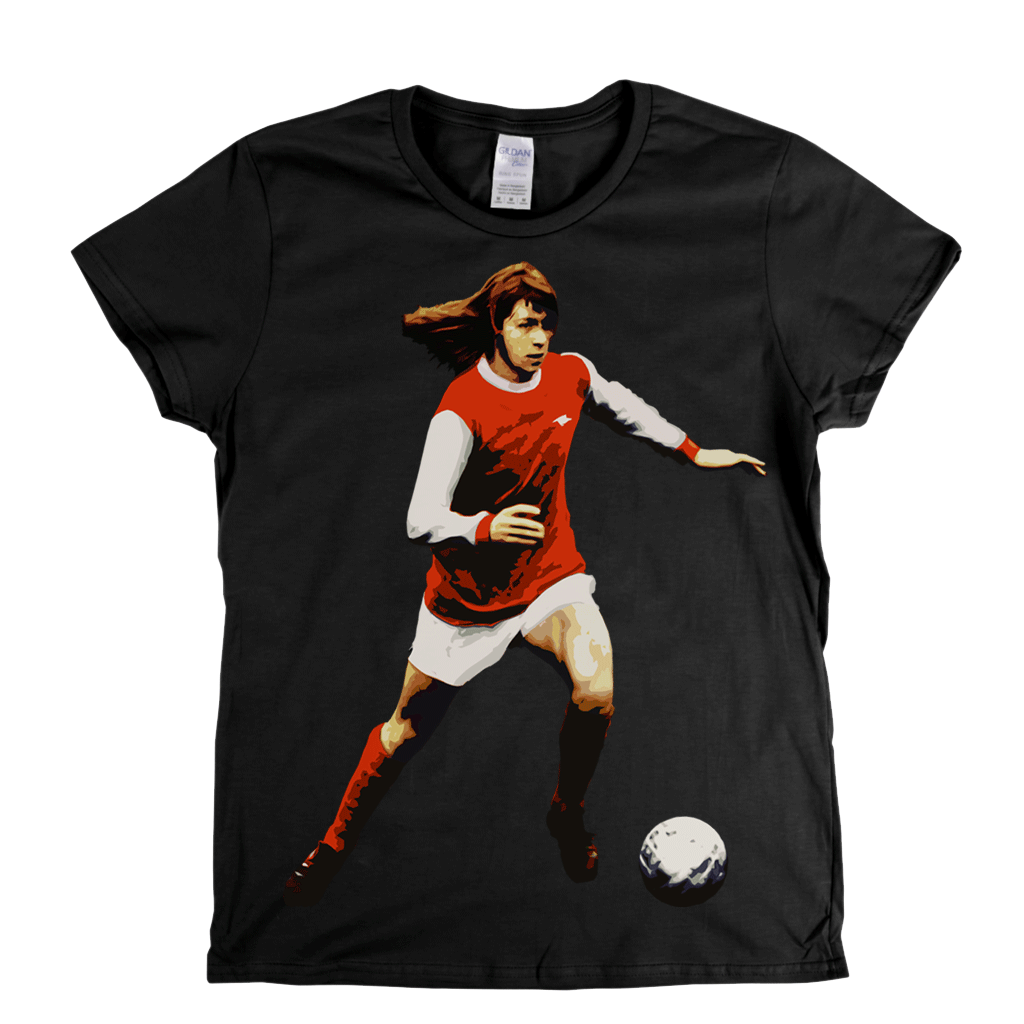 Charlie George Womens T-Shirt