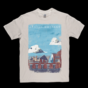 Craven Cottage Poster Regular T-Shirt