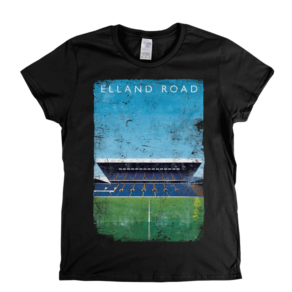 Elland Road Poster Womens T-Shirt