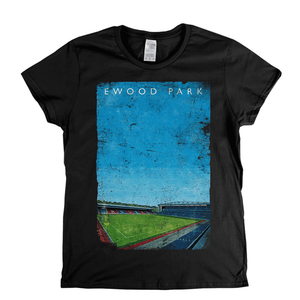 Ewood Park Poster Womens T-Shirt