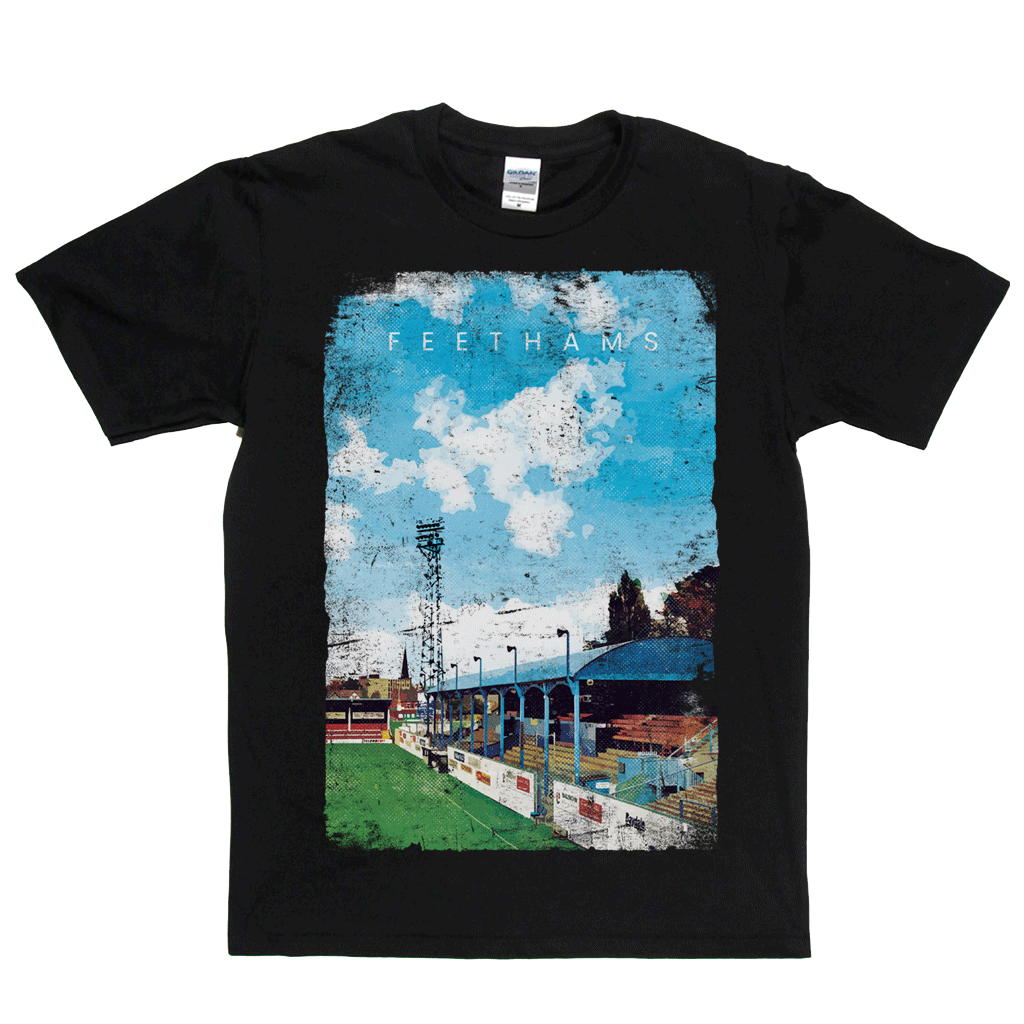 Feethams Football Ground Poster Regular T-Shirt