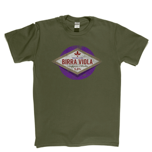 Fiorentina Beer Label Regular T-Shirt