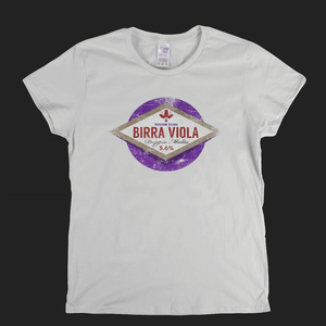 Fiorentina Beer Label Womens T-Shirt
