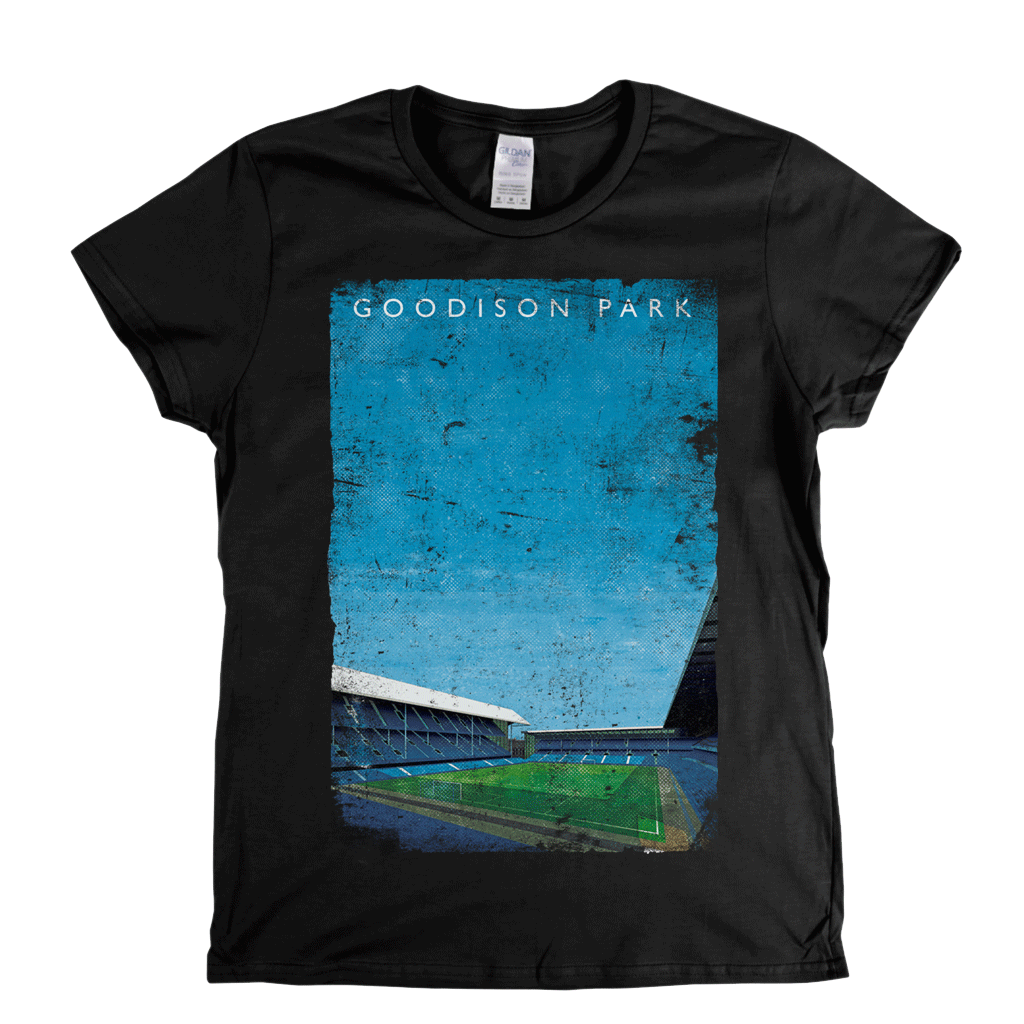 Goodison Park Poster Womens T-Shirt