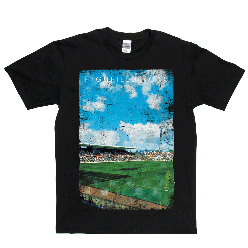 Highfield Road Football Ground Poster Regular T-Shirt