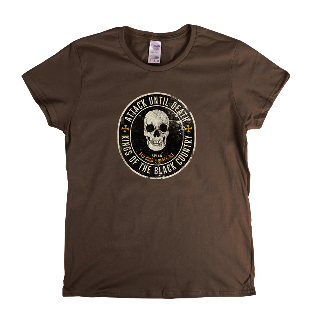 Kings Of The Black Country Beer Label Womens T-Shirt