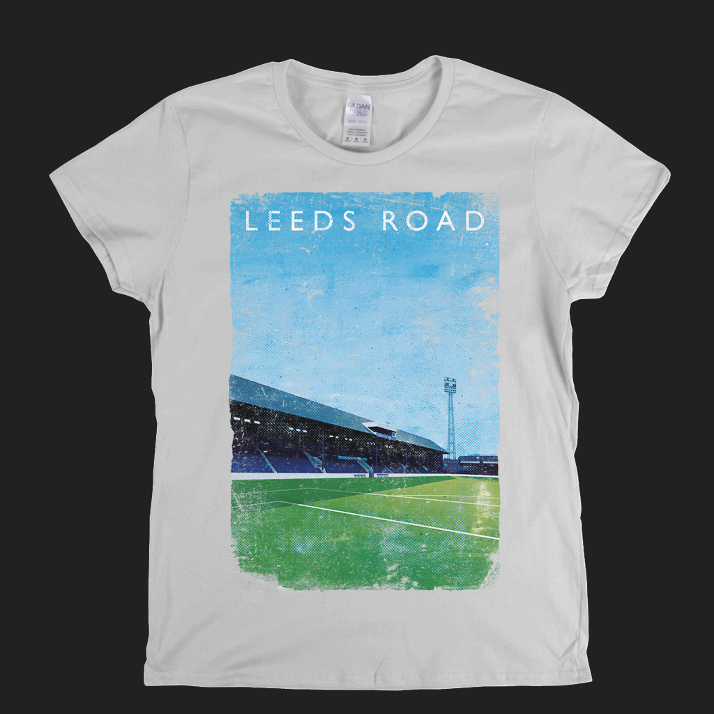 Leeds Road Poster Womens T-Shirt