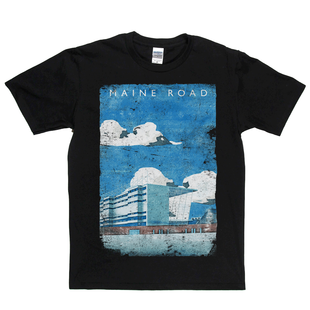 Maine Road Poster Regular T-Shirt