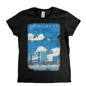 Maine Road Poster Womens T-Shirt