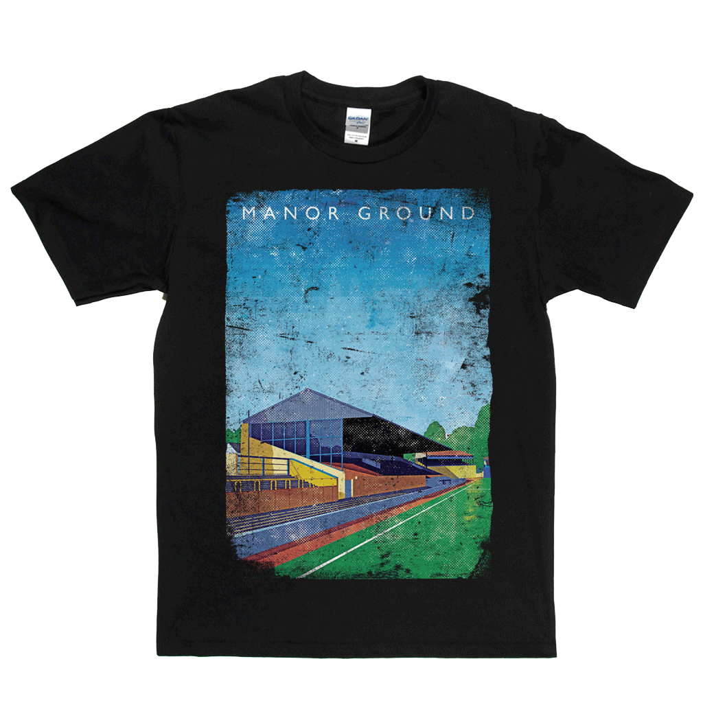 Manor Ground Poster Regular T-Shirt