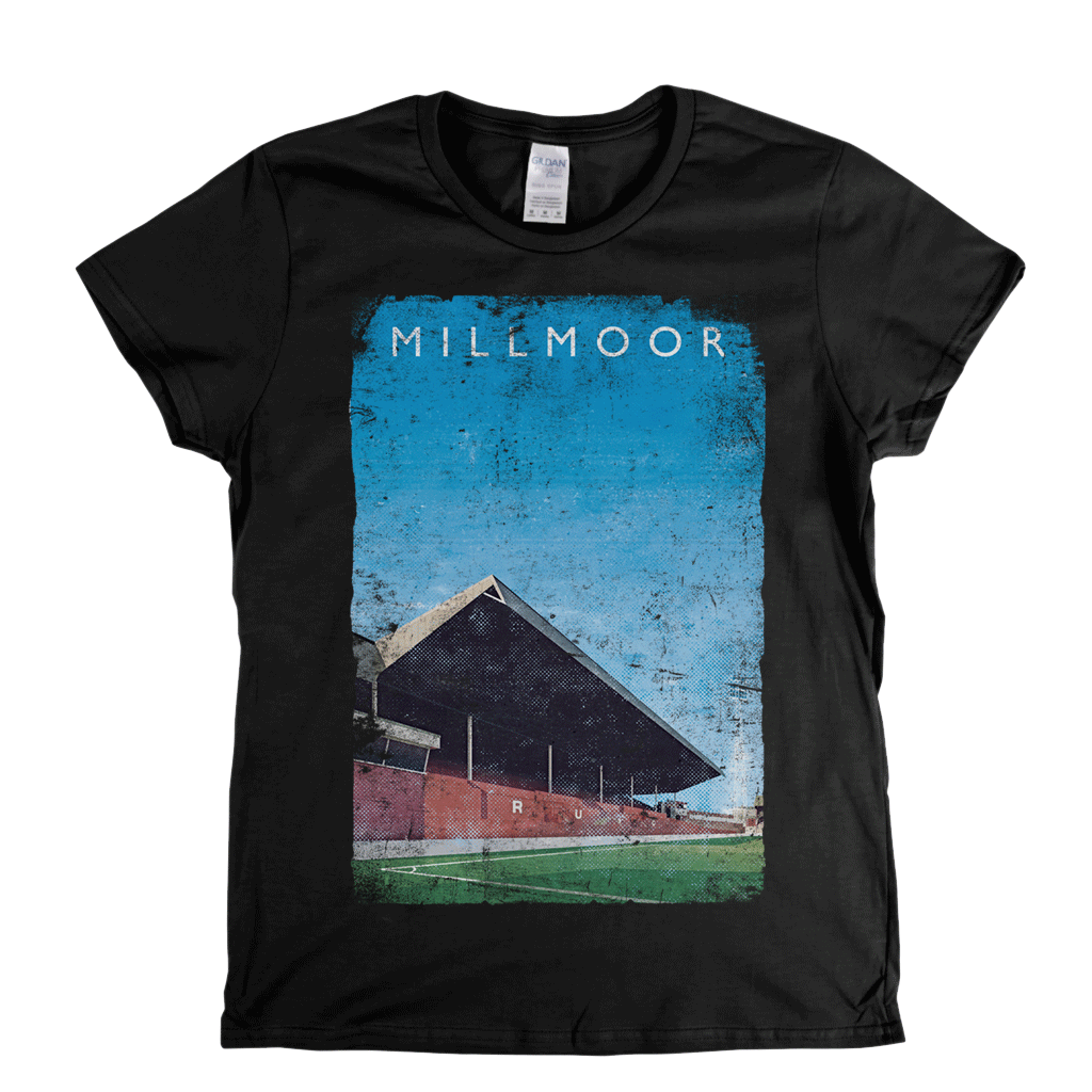 Millmoor Poster Womens T-Shirt