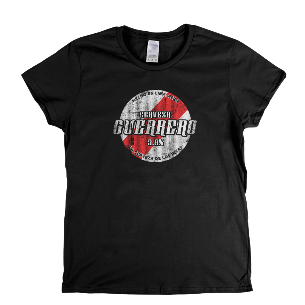 Peru Beer Label Womens T-Shirt