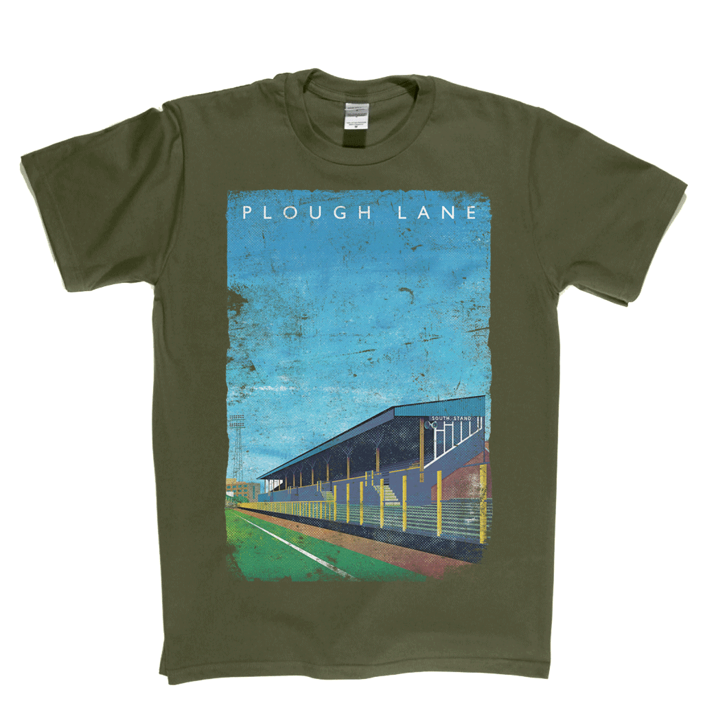 Plough Lane Poster Regular T-Shirt