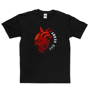 Red Heart Regular T-Shirt