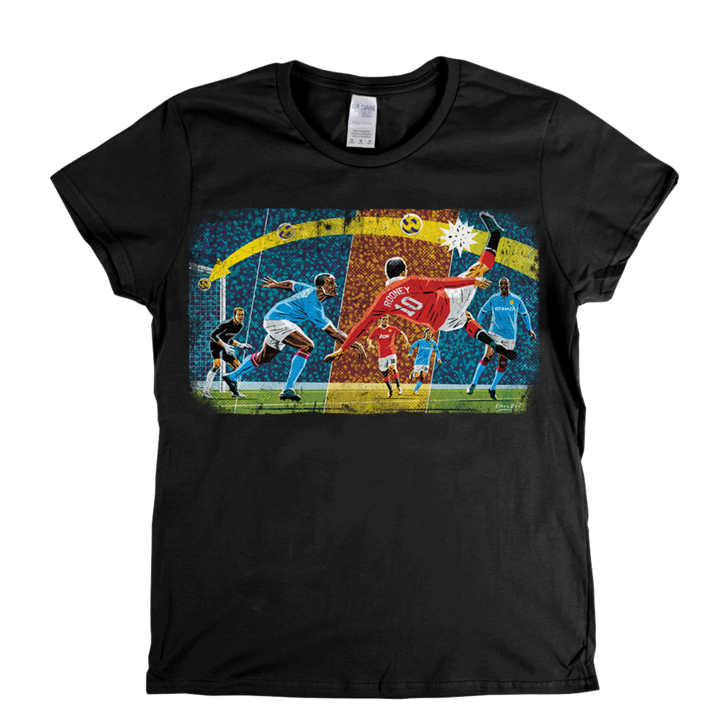 Rooney Goal Womens T-Shirt
