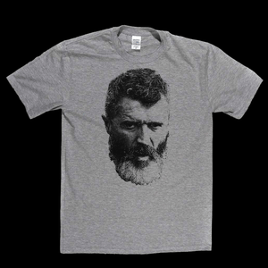 Roy Keane With Beard Regular T-Shirt
