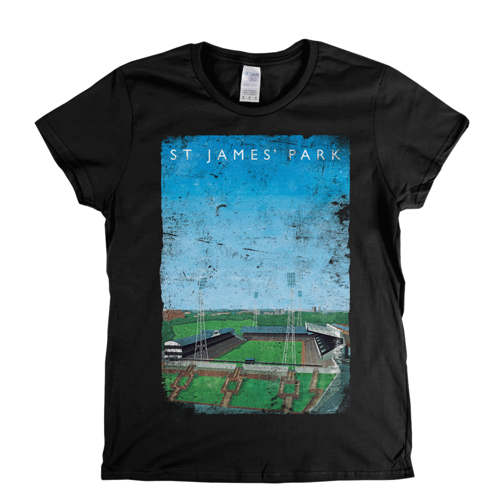 St James' Park Poster Womens T-Shirt
